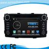 6.2 inch car radio dvd for Toyota Hilux 2012 with 3G WIFI OBD
