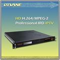 Dmb-9020a receptor integrado e decodificador de vídeo com sintonizador/asi/ip de entrada asi e/ip/saída de vídeo