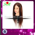 preço por atacado do cabelo humano de treinamento a cabeça da boneca para a escola de cabeleireiro