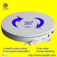 rotating urntable base 360 degree display advertising for electronic cigarette smoking bong