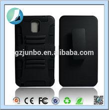 Kickstand black holster case with belt clip casefor samsung Galaxy Note 3