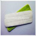 Compras en línea de China Rubbermaid comercial productos de microfibra de pulso Mop Pad recambio