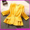 Latest women business suit coat 2014