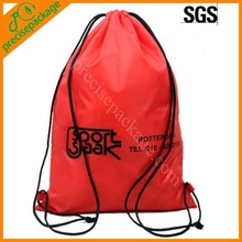 Promotional polyester drawstring backpack with custom printing (PRD-8141)