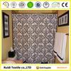 Printed waterproof bathroom bathroom curtain with custom design
