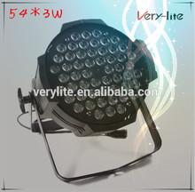 China supplier stage light china 54*3w led par light