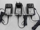 world wide safty approved world plug Power Adapter input 100V~240V output 3~36V