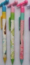 China Promotional Cute Cartoon Plastic Ballpoint pen