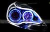 2014 Newest 60cm Dual Color Led Flexible Strip light drl volvo daytime Running Light