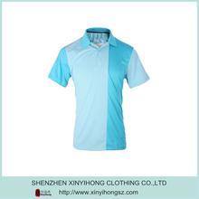 Dark Light Blue Combinations Dri Fit Slim Soft Polo Shirt Factory