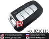 Hot sale new arrived remote smart car key 4 butoon 0210115