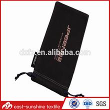 custom printed belt bag sunglasses,microfiber drawstring sunglasses pouch bag