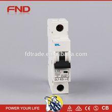 DL7-63 curve c mini circuit breaker