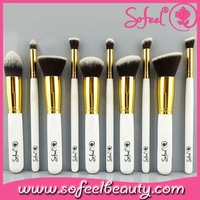 Sofeel MakeUp Cosmetic Set Eyeshadow Foundation wood Brush blusher Tools