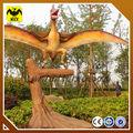 el parque temático de dinosaurios animados