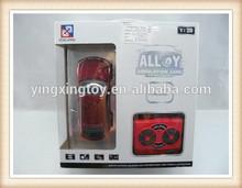 1:28 universal rc car remote control diecast model car metal classic car toy