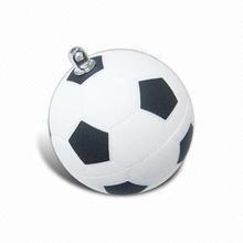Football Style and USB 2.0 Interface Type usb flash drives bulk cheap