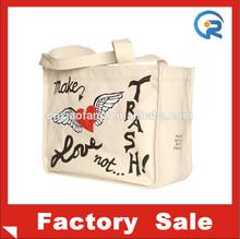 Factory wholesale oem tote bag cotton