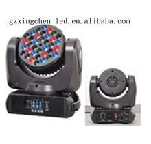 36*3w led moving head wash light dj booth