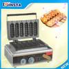 110V 220V hot dog lolly waffle maker/ waffle stick commercial waffle stick maker