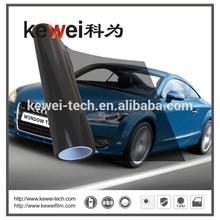 Korea material black side Self-adhesive car vinyl film ,Car window tint