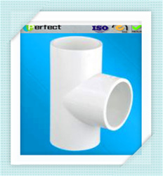Best Selling ASTM D2846 PVC Pipe Tee Joints White Water Supply Pipe Tee Joint