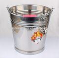 alta qualidade melhor venda balde de ferro galvanizado com argola