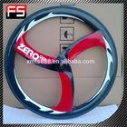 Chinese carbon track wheel carbon road bike three spoke wheel tri-spoke wheel