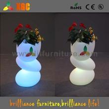glowing beautiful flower pot high tech product