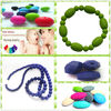 2014 Wholesale Non Toxic BPA Free Loose Silicone Beads For Teething Jewelry