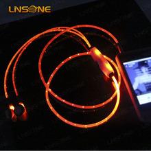 High-end light up earphone splitter,OEM/ODM