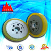 Abrasion proof solid small rubber wheels