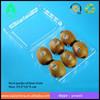disposable plastic kiwi container(6 slot) PET container/kiwi fruit or Chinese gooseberry /cumquat plastic fruit trays