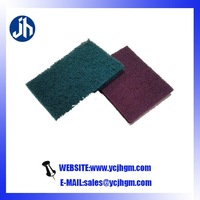 abrasive pad sanding block for car wash