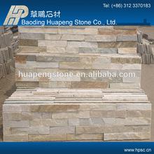 Decorative internal textured natural slate wall split cladding