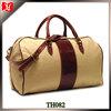 Custom oversize weekend canvas travel bag men wax canvas duffle bag