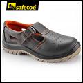 Protectora de los zapatos de seguridad, la seguridad de los zapatos de verano, acero l-7216 sandalias