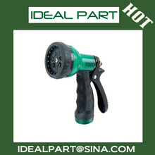 7way plastic hose garden water gun