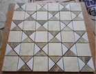 Light emperador mixed white and beige marble italian patterned floor tile