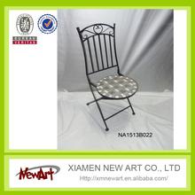 patio metal mosaic furniture used metal folding chairs used metal folding chairs wholesale
