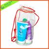 2014 Promotion Clear PVC bag, Drawstring clear plastic bag,PVC drawstring bag