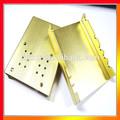 anodizado cnc usinagem de alumínio personalizado u canal de perfil