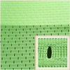 Sports apparel 100% cationic polyester mesh jersey fabric wholesale