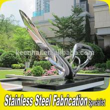 Custom Made Outdoor Stainless Steel Elephant Sculpture