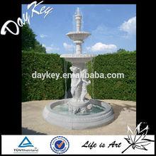 2-tier White Stone Water Fountains