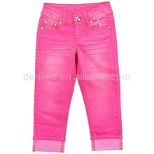 5370-d1 damas pantalones vaqueros con estilo de pantalones cortos de mezclilla de algodón pantalones cortos