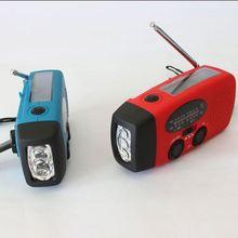 wholesale alibaba Weather Band digital radio flashlight