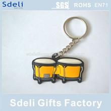 Hot sale custom made promotional soft pvc keyring/keychain/soft pvc rubber keytag