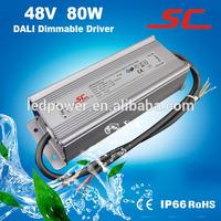 KV-48080-DA dali powe supply 80w for strip light