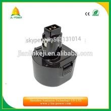 replacement power tool Black&Decker battery 9.6v 1.3ah 1.5ah